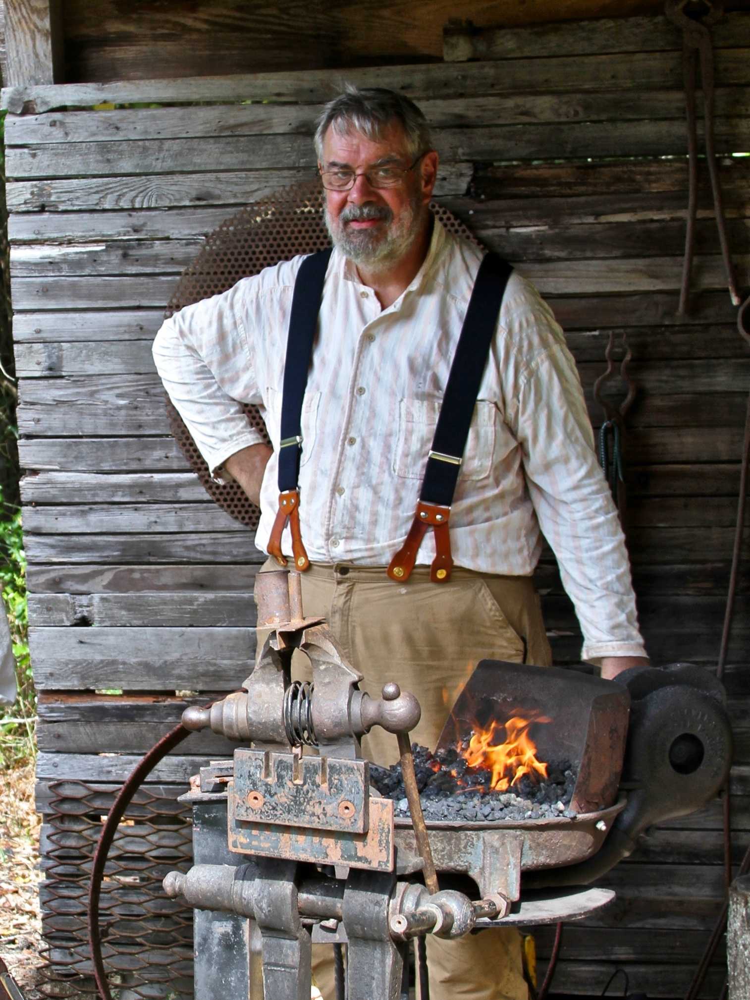 blacksmithing 2 9 12 Pat Furman